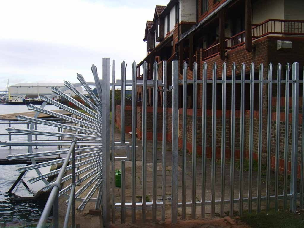 security fencing in Romsey
