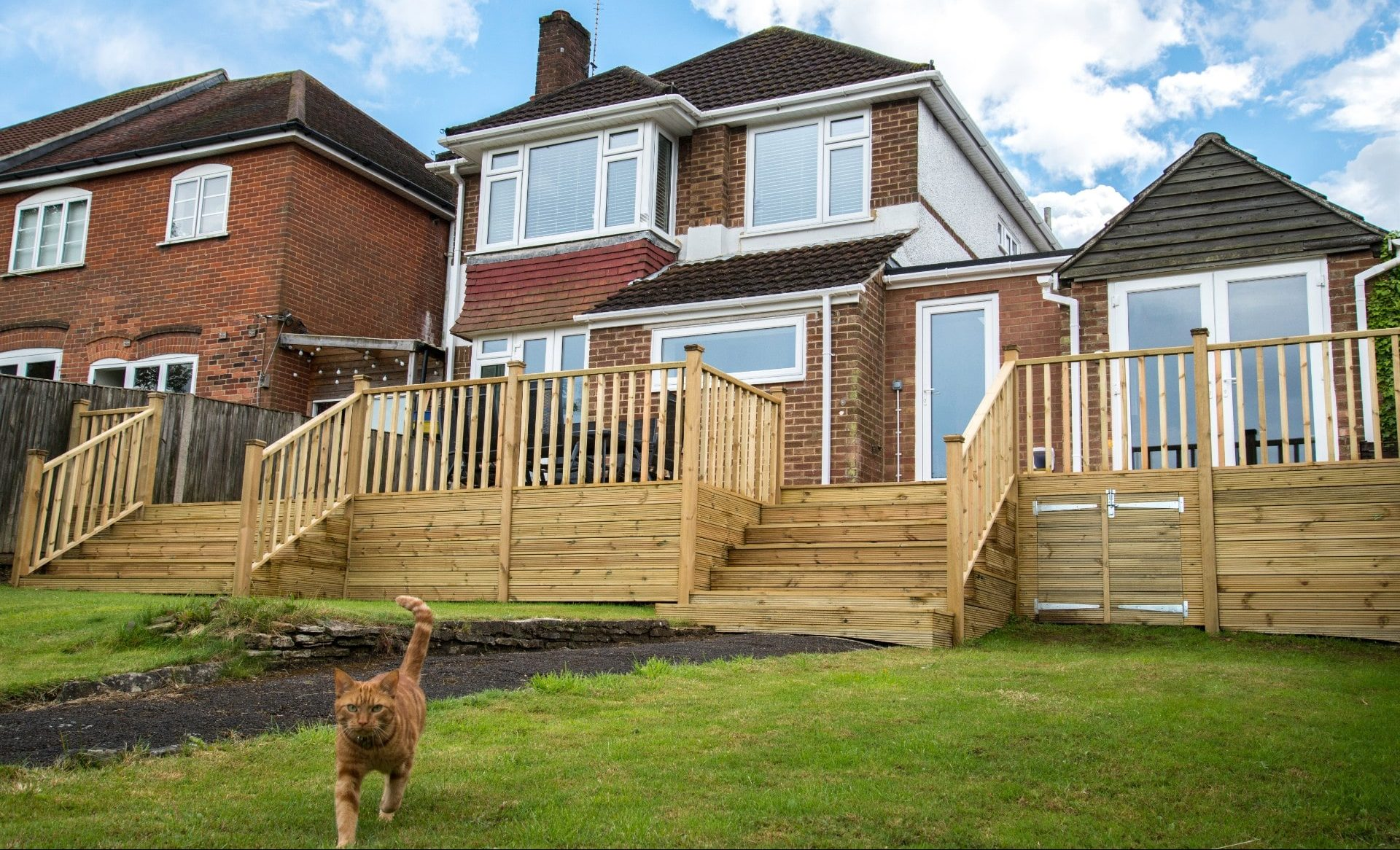 Elevated Decking in Hampshire