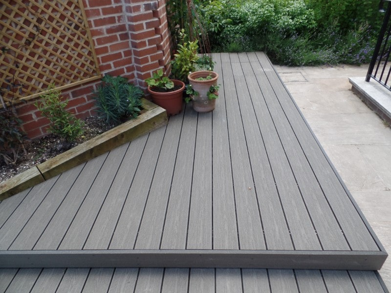 composite decking in Romsey