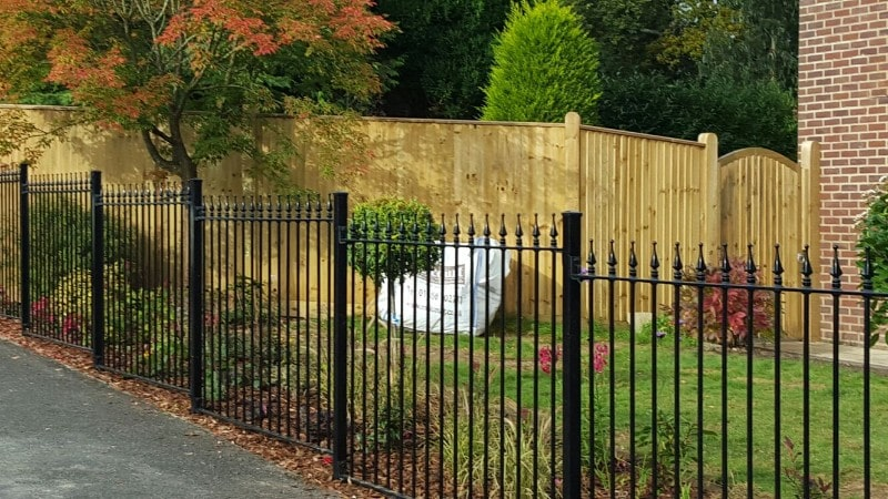 wrought iron fencing southampton