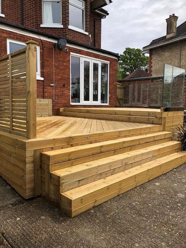 Elevated Decking Southampton