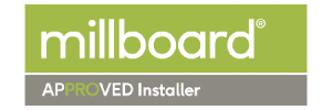 millboard approved installer Logo